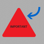 Important word in a triangle